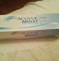 Contact lenses 1 day Acuvue Moist (30 pcs)