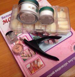 Cărți, reviste, materiale pentru unghii