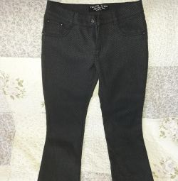 Trousers for the girl of river 150-152 (ts. Blue)