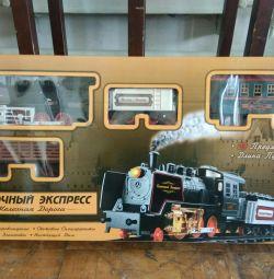 Σιδηρόδρομος, ατμομηχανή ατμού