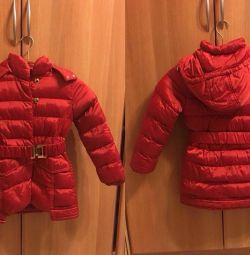 Χειμερινό σακάκι με κουκούλα