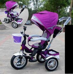 Bicicleta violet NEO
