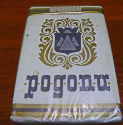 Пачка сигарет «Pogonu» (Родопи). Болгария.