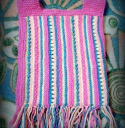 knitted sundress 0.6 -1.6 years, dressed a couple of times