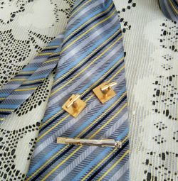 Запонки. Зажим для галстука.