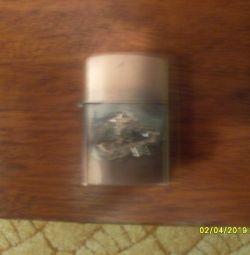 zippo gas lighter