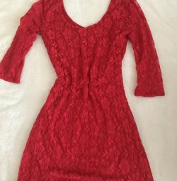 Платье материал гипюр