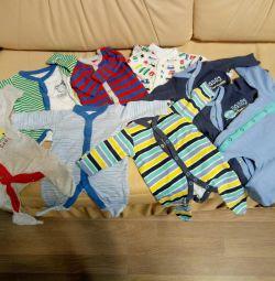 Slips for a newborn
