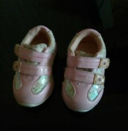 Sneakers for girls size 19
