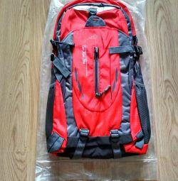 Backpack mochila masculina red