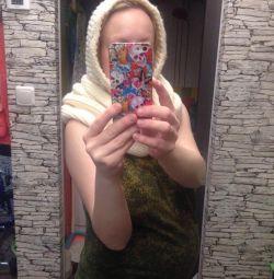 Hand-knitting hat snap