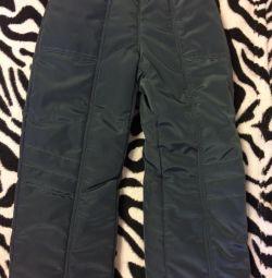 Брюки демисезонные штаны