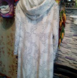 Βαμβακερό παλτό για γυναίκες