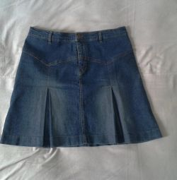 Denim skirt 50-52 size