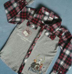 Рубашка для мальчика NOVA.
