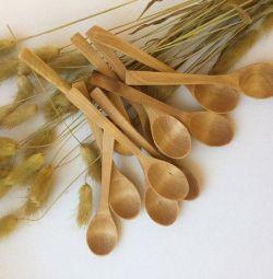 Wooden spoons (birch and juniper)