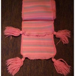 Knitted Scarf for Girl