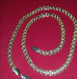 Αλυσίδα χρυσού απομιμήσεις κοσμήματα