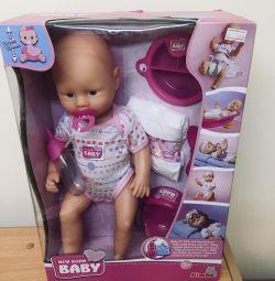 Μωρό κούκλα νεογέννητο μωρό simba