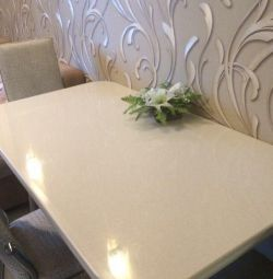Tabletops made of artificial stone