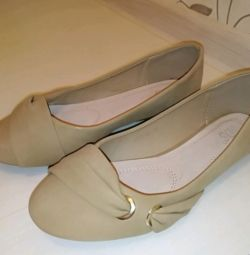 Παπούτσια μπαλέτου νέα p. 38