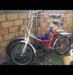 Велосипед новый складной сокол