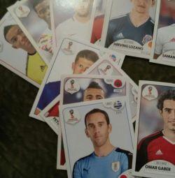Stickere panini FIFA 2018 Panini