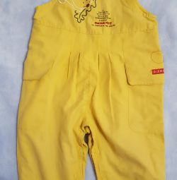 Children's jumpsuit.