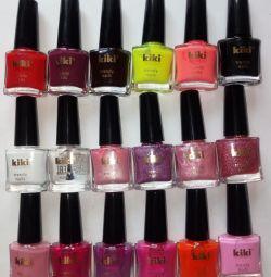 Мини-лак для ногтей kiki trendy nails 6мл