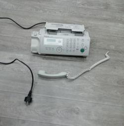 Новый факс Panasonic KX-FP207RU
