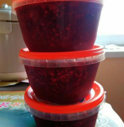 Raspberries with sugar (not jam)