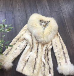 Palton de blană de mină
