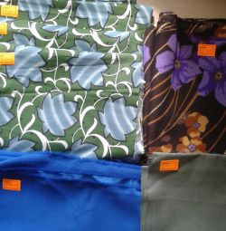 Fabrics, canvas