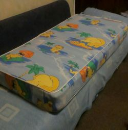 Mattress for baby cot and cot