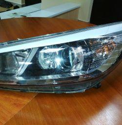 Headlight kia ceed left from 2013