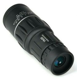 Monocular 16x52 new with case and strap