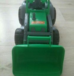 Tractor, mașină, jucărie