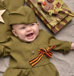 Военная форма к 9 мая на малышку