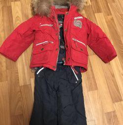 Children's overalls winter