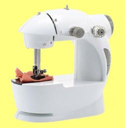 Мини швейная машина 4в1 Mini Sewing Machine