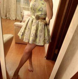 Платье на выпускной летнее коктейльное вечернее