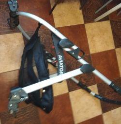 Frame from the stroller.