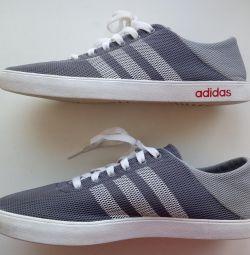 Кроссовки летние сетка Adidas, оригинал, р.40