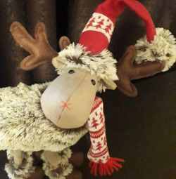 New Year's Deer, toy