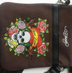 Bag handbag with skull