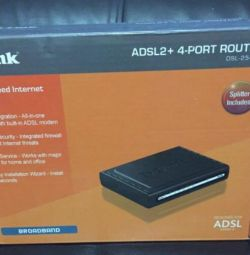 Roller adsl2 + D-Link DSL-2540U / BRU / Τ1 / (C (D)