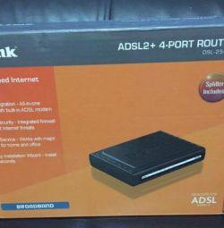 Ролтер adsl2+ D-Link DSL-2540U/BRU/T1/ (C(D)