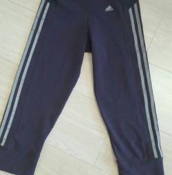 Adidas штани капрі бриджі спортивні