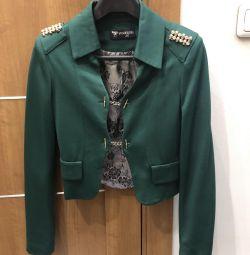 Yeni Kısa Kesilmiş Ceket