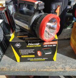 Manual Battery Spotlight